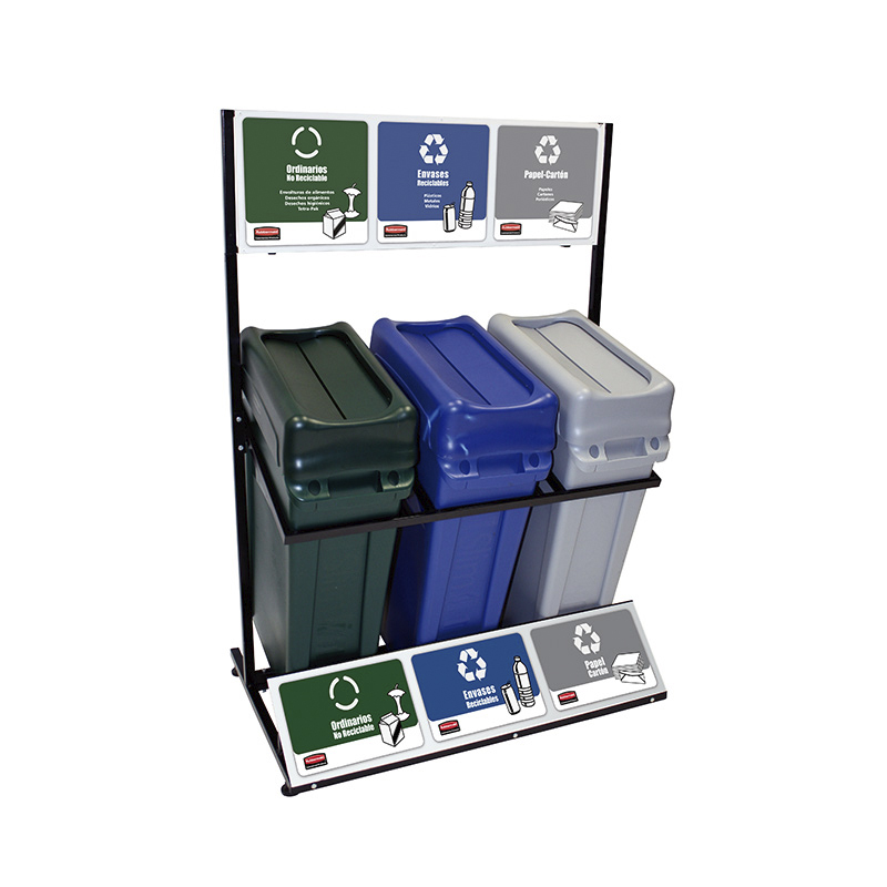 Rubbermaid Commercial Products T180COMPLETO PUNTO ECOLOGICO 87 LITROS
