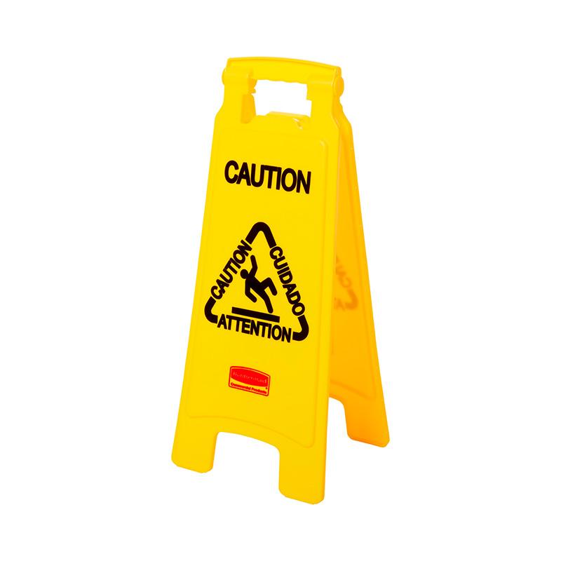 Rubbermaid Commercial Products FG611200YEL Señal de seguridad para pisos